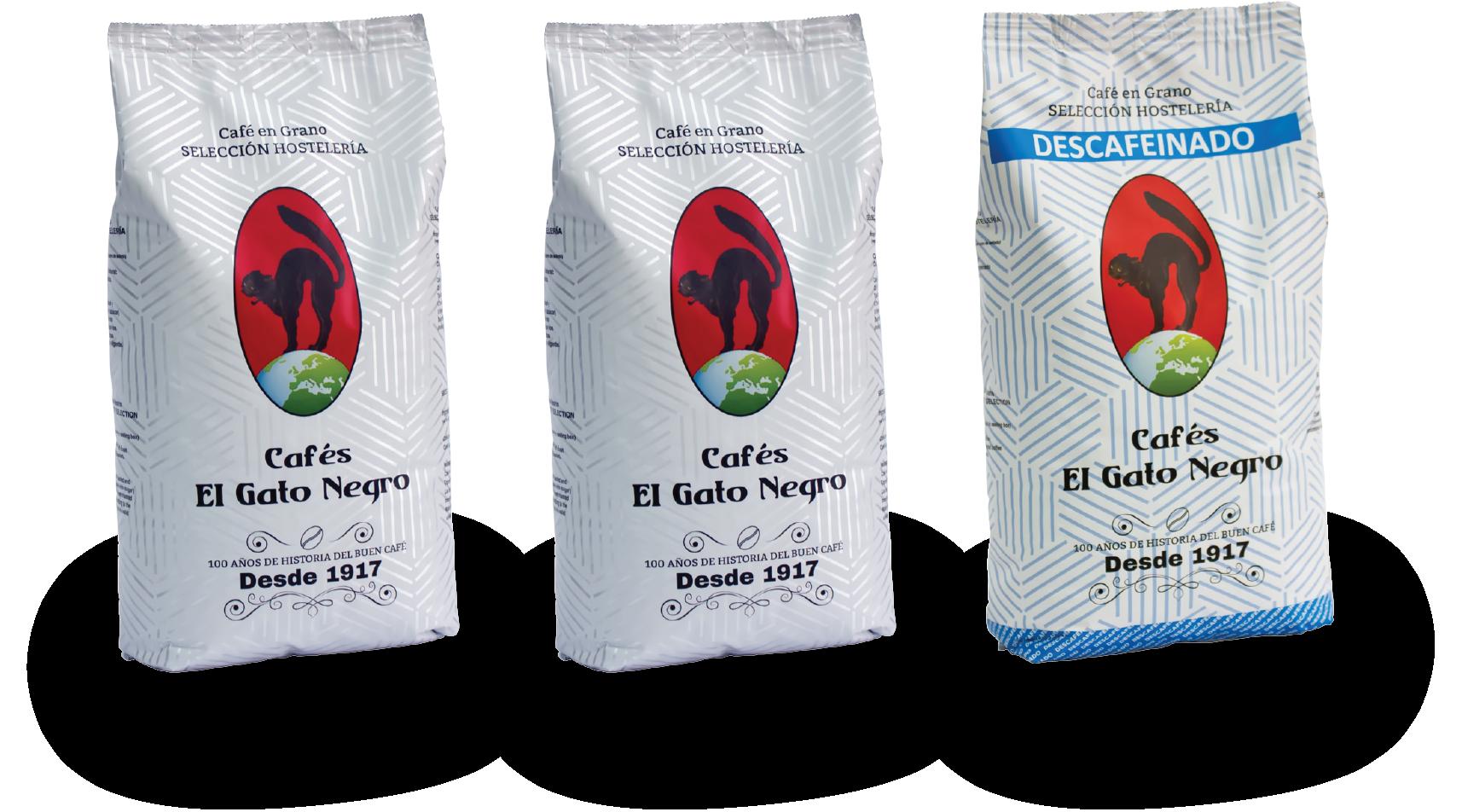 Gama cafe en grano El Gato Negro